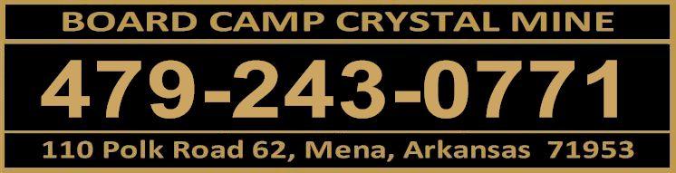 Board Camp Crystal Mine