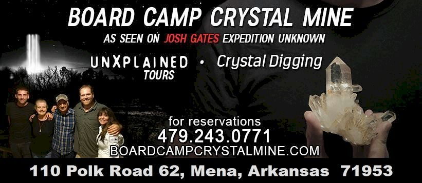 Board Camp Crystal Mine – Come see for yourself